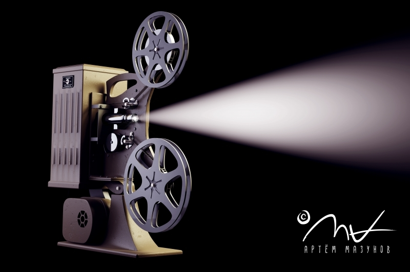 film_projector_black